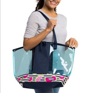 Thirty One In The Clear Tote*Slice of Summer* NWOT
